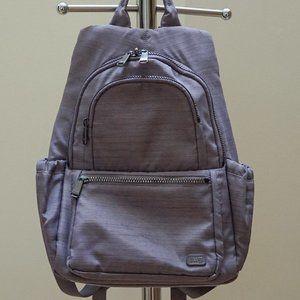 Lug Grey Lilac Travel Backpack